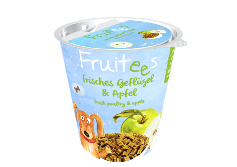 Fruitees getreidefrei  Geflügel & Apfel 200g