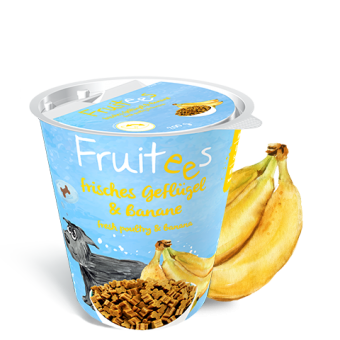 Fruitees getreidefrei  Geflügel & Banane 200g