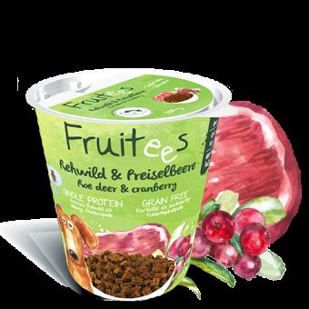 Fruitees getreidefrei Rehwild & Preiselbeere 200g