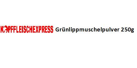 Kopffleischexpress Grünlippmuschelpulver 250g