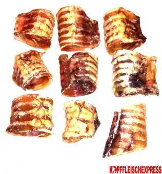 Rindergurgel geschnitten