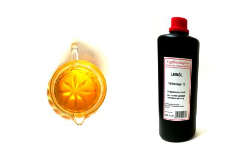 Kopffleischexpress Leinöl 1L