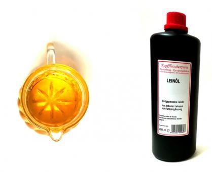 Kopffleischexpress Leinöl