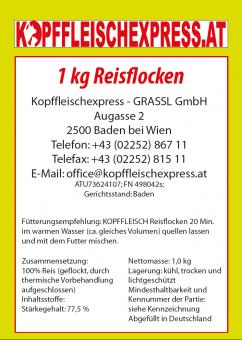 Kopffleischexpress Reisflocken 1kg